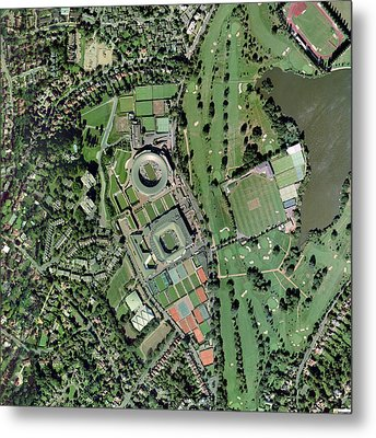 Wimbledon Tennis Complex, Uk Metal Print