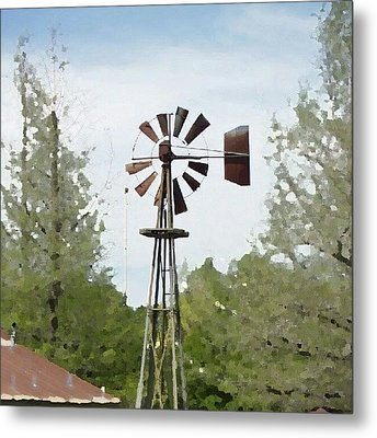 Windmill II, You Can Sell Your Metal Print by James Granberry