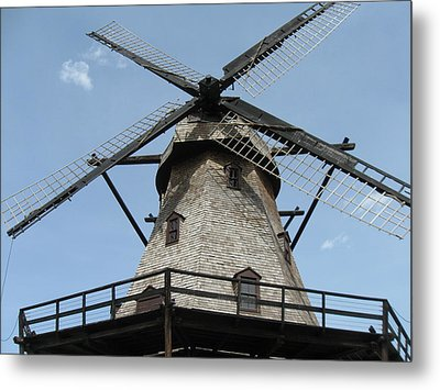 Windmill Metal Print by Todd Sherlock