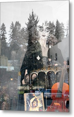 Metal Print featuring the photograph Window Art by Holly Ethan