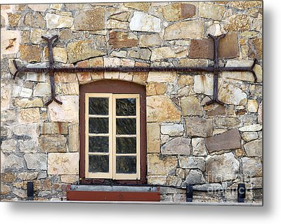 Window Into The Past Metal Print