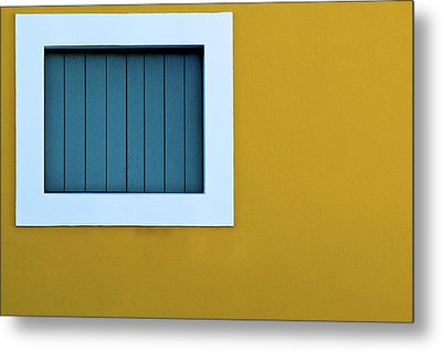 Window Metal Print by L F Ramos-Reyes