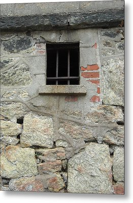 Metal Print featuring the photograph Window Of Desire by Christophe Ennis
