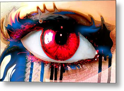 Window Of The Soul - Love Metal Print by Eleigh Koonce