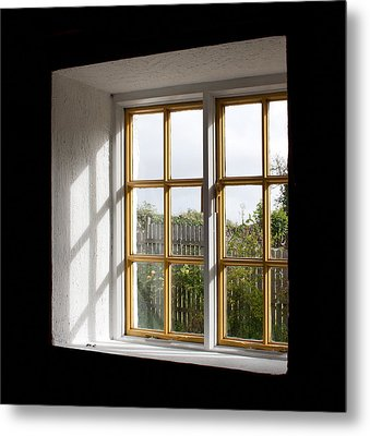 Window  Metal Print by Semmick Photo