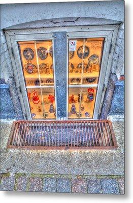 Window Shopping Metal Print by Barry R Jones Jr