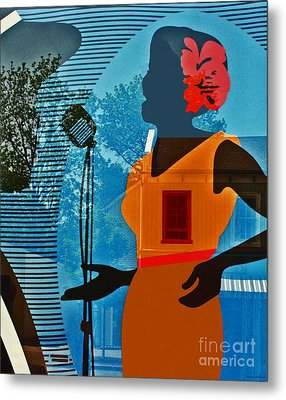 Metal Print featuring the photograph Window To My Soul by Barbara McMahon
