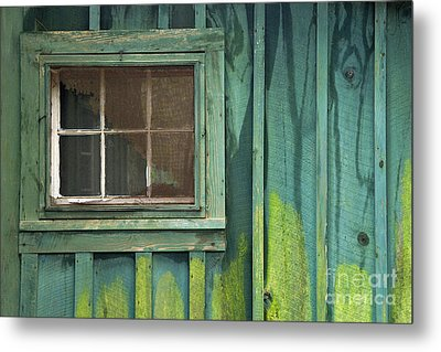 Window To The Past - D007898 Metal Print by Daniel Dempster
