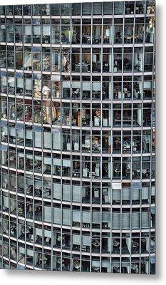 Windows Again, Berlin Metal Print by Eike Maschewski