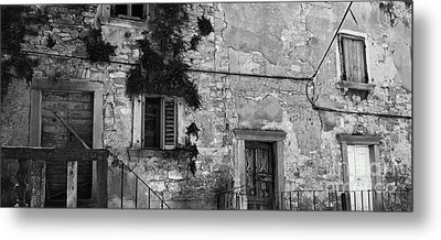Metal Print featuring the photograph Crumbling In Croatia by Andy Prendy