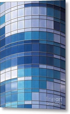 Windows Metal Print by Jane Rix