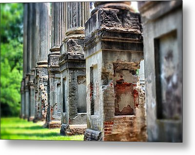 Windsor Ruins 1 Metal Print