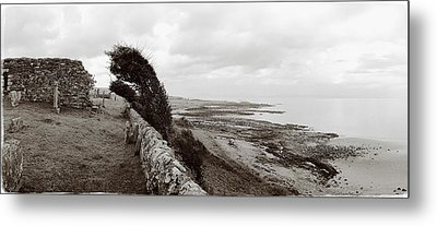 Windswept Machrihanish Metal Print by Jan W Faul