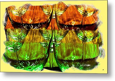 Wine And Dine 2 Metal Print by Will Borden