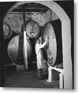 Wine Vaults Metal Print by Ejor