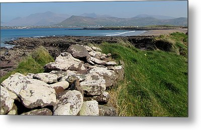 Metal Print featuring the photograph Winestrand by Barbara Walsh