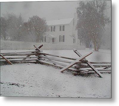 Winter At Endview Metal Print by Catherine Kurchinski