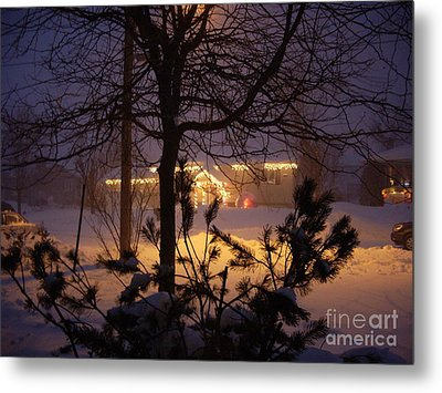 Metal Print featuring the photograph Winter Charm by Kathleen Pio