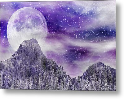 Winter Dreamscape Metal Print by Anthony Citro