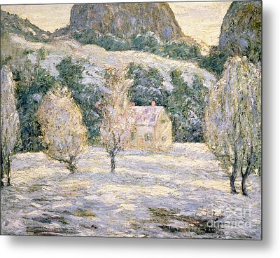 Winter Metal Print by Ernest Lawson