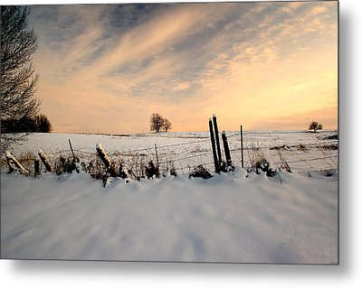 Winter Metal Print by Fuad Azmat