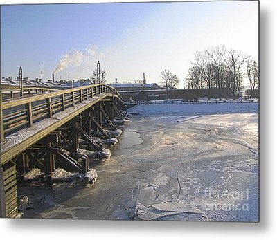 Winter In Peterburg Metal Print