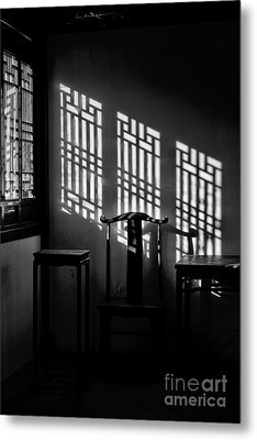 Metal Print featuring the photograph Winter Light by Vicki DeVico