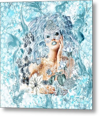 Winter Metal Print by Mo T