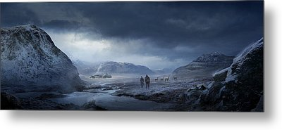 Winter Metal Print by Philip Straub