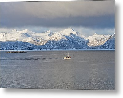 Winter Sea Metal Print by Frank Olsen