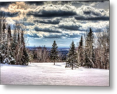 Winter Time Metal Print by Gary Smith