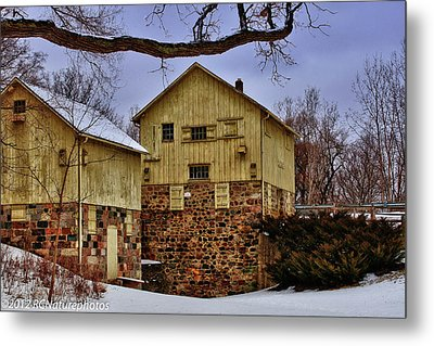 Metal Print featuring the photograph Winters Mill by Rachel Cohen