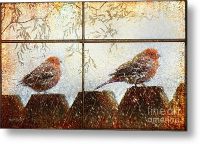 Metal Print featuring the digital art Winter's Song by Rhonda Strickland