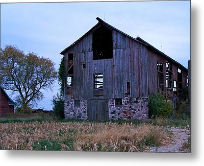 Metal Print featuring the photograph Wisconsin Barn by Kristine Bogdanovich