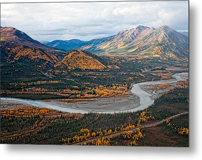 Metal Print featuring the photograph Wiseman Alaska by Gary Rose