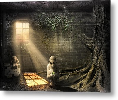 Wishing Play Room Metal Print by Svetlana Sewell