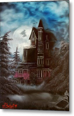 Witches Hollow 2011 Metal Print by Shawna Burkhart