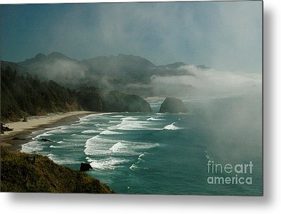 Within The Fog Metal Print