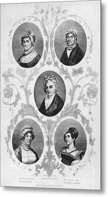 Wives Of Founding Fathers Metal Print by Granger