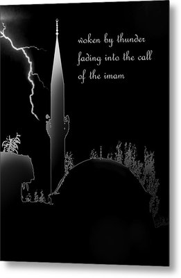 Woken By Thunder Metal Print by Steve Mangan
