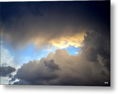 Wolf Clouds Metal Print by Diane montana Jansson