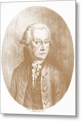 Wolfgang Amadeus Mozart, Austrian Metal Print by Photo Researchers, Inc.