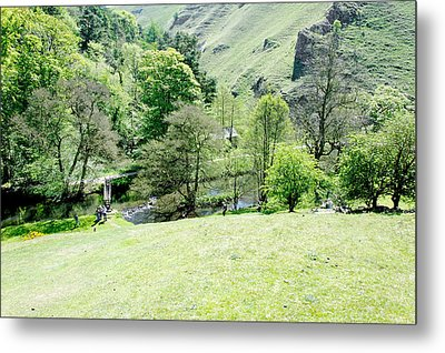 Wolfscote Dale From Gipsy Bank Metal Print by Rod Johnson