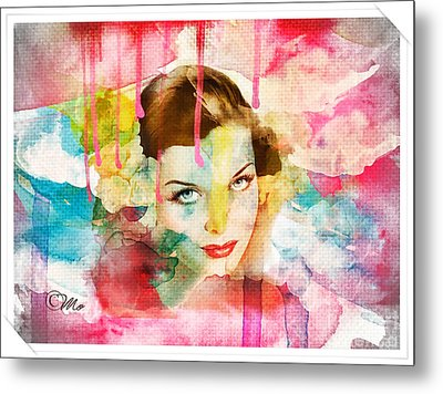 Woman's Soul Prelude Metal Print by Mo T