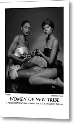 Women Of A New Tribe - Chores I Metal Print by Jerry Taliaferro
