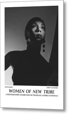 Women Of A New Tribe - Moon Kissed Metal Print by Jerry Taliaferro