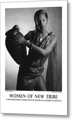 Women Of A New Tribe - Water Maiden I Metal Print by Jerry Taliaferro