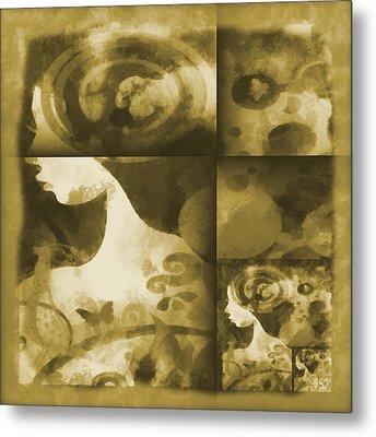 Wondering 3 Metal Print by Angelina Vick