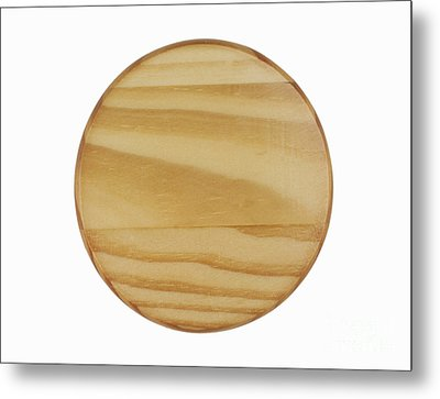 Wood Sign Metal Print by Blink Images