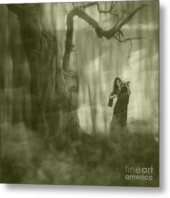 Wood Sonata Metal Print by Witaliy Sapeka